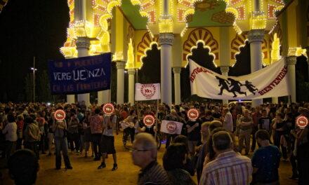 GALERÍA: Fotos de la concentración en la portada de la fería
