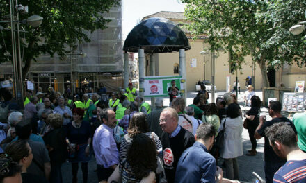 VIDEO: El 15M Córdoba celebra su quinto cumpleaños volviendo al bulevar